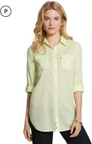 Chico's Celia Relaxed Cotton Shirt