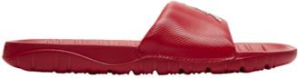 Jordan Break Slide Shoes - Red / Metallic Silver