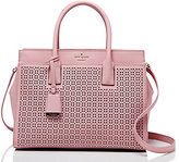 Kate Spade Cameron street perforated candace satchel