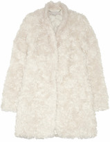 Stella McCartney Bryce mohair-blend faux fur coat