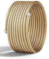 John Hardy Medium Classic Chain Coil Cuff Bracelet