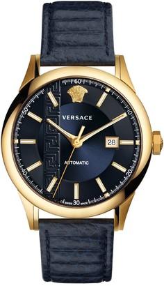 Versace Men's Aiakos Automatic Watch, 44mm
