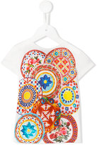Dolce & Gabbana printed T-shirt - kids - Cotton - 24 mth