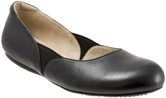 SoftWalk Classic Leather Ballet Flats - Norwich