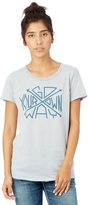 Alternative Distressed Vintage Graphic T-Shirt - Go Your Own Way