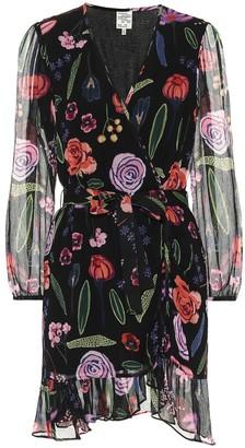 Baum und Pferdgarten Awella floral wrap dress