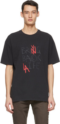 Ksubi Black Its Back Biggie T-Shirt