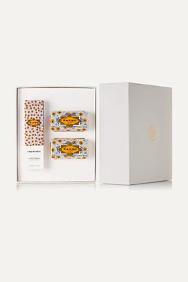 Claus Porto Banho Citron Verbena Gift Box - Colorless