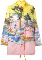 Emilio Pucci river print hooded jacket