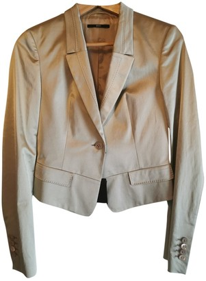 BOSS Green Silk Jacket for Women