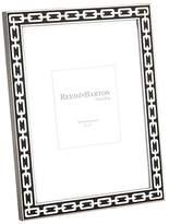 "Reed & Barton Silver Link White Frame, 5 x 7"""