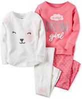 Carter's Girls' or Little Girls' 4-Pc. Daddy's Dream Girl Pajama Set