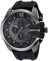 Diesel Men's DZ4378 Mega Chief Black Silicone Watch