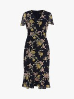 Phase Eight Melissa Floral Dress, Navy Multi