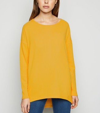 New Look Fine Knit Dip Hem Jumper