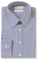 Roundtree & Yorke Gold Label Non-Iron Collared Gingham Dress Shirt