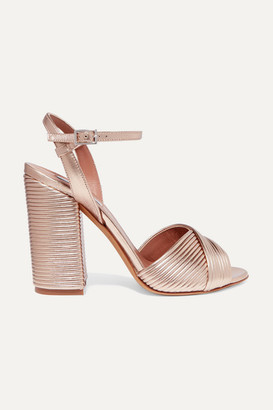 Tabitha Simmons Kali Metallic Leather Sandals
