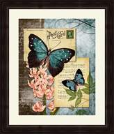 PTM Images 1-20058A Butterfly Carrier I Luxury Frame, 23.75 by 27.75-Inch, Dark