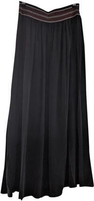 Vanessa Bruno Black Silk Skirts