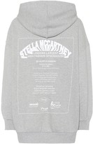Stella McCartney Oversized printed cotton hoodie