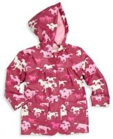Hatley Baby's, Toddler's & Little Girl's Fairy Tale Horse-Print Raincoat