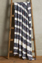 Anthropologie Confetti-Striped Throw