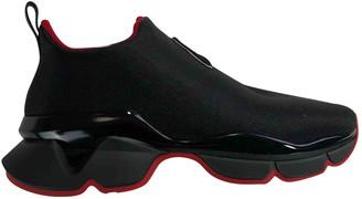 Christian Louboutin Funfor Run Black Cloth Trainers