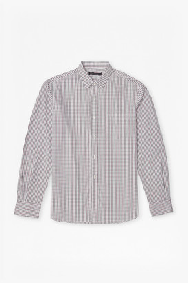 French Connection Checked Cotton Shirt