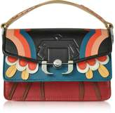Paula Cademartori Twi Twi Multicolor Leather Shoulder Bag