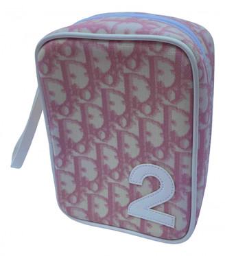 Christian Dior Multicolour Cloth Travel bags