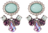 Sorrelli Semi-Precious Dangling Drop Stud Earrings