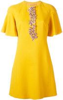 Giambattista Valli floral stones dress - women - Silk/Cotton/Polyamide/Viscose - 40