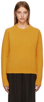Studio Nicholson Yellow Wool and Cashmere Sweater