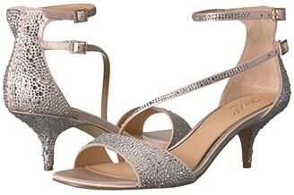 Badgley Mischka Tangerine (Champagne) Women's Shoes