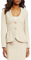 Alex Marie London Collarless Button Front Jacket