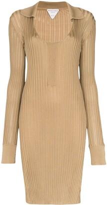 Bottega Veneta Ribbed Knit Dress