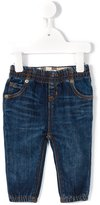 Burberry tapered jeans - kids - Cotton/Spandex/Elastane - 12 mth