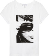 DKNY Selfie cotton T-shirt 6-16 years