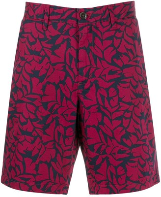 Michael Kors Foliage Print Bermuda Shorts