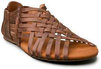Sugar Halfmoon Open Toe Gladiator Sandal