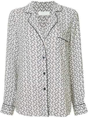 The Upside anchor print pyjama shirt
