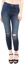 J Brand Alana Hi Rise Crop Skinny Jean in Volatile