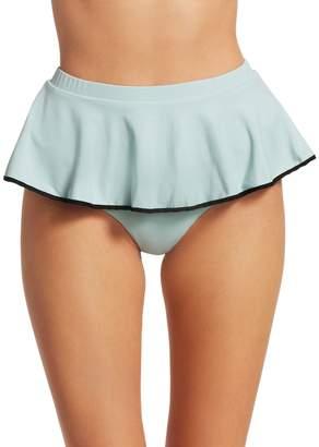 Marysia Swim Plana Tiered Ruffle Bikini Bottom