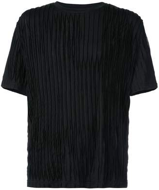 Private Stock short sleeve textured T-shirt