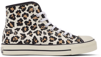 Converse Off-White Lucky Star Archive Print High Sneakers