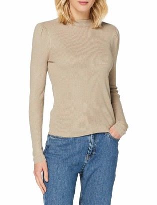 Vila Women's VIPOPSA Knit Crew Neck L/S TOP Sweater