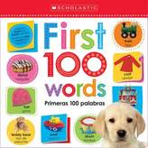 "Scholastic Lift the Flap: First 100 Words"" Board Book (Bilingual)"