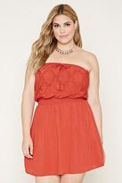 Forever 21 FOREVER 21+ Plus Size Strapless Dress