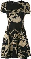 Philipp Plein Badu knitted dress - women - Polyester/Spandex/Elastane/Viscose - S