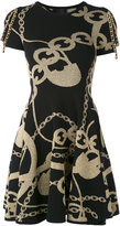 Philipp Plein Badu knitted dress